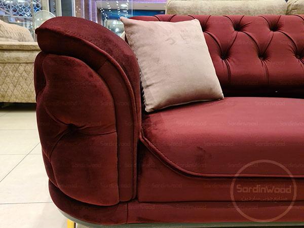 کاناپه چستر پایه استیل