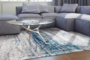 فرش و مبل یک رنگ