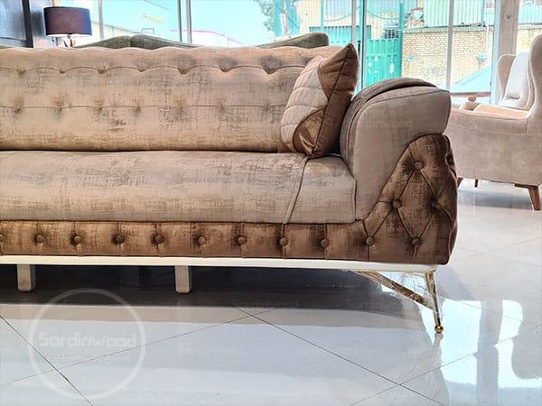 کاناپه راحتی پایه استیل چستر رامیا