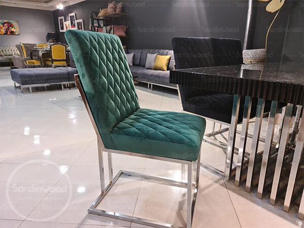صندلی ناهار خوری پایه فلزی رابین