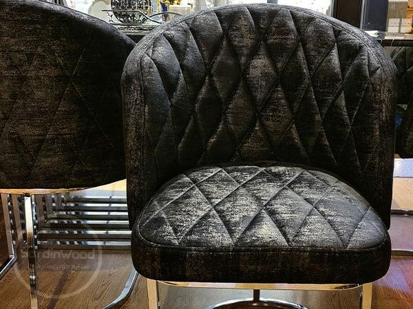 صندلی پایه گلدانی استیل ویدا