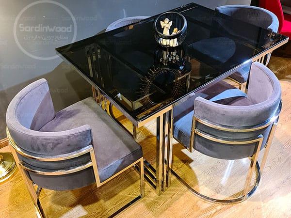 میز ناهار خوری گلدانی یادگار