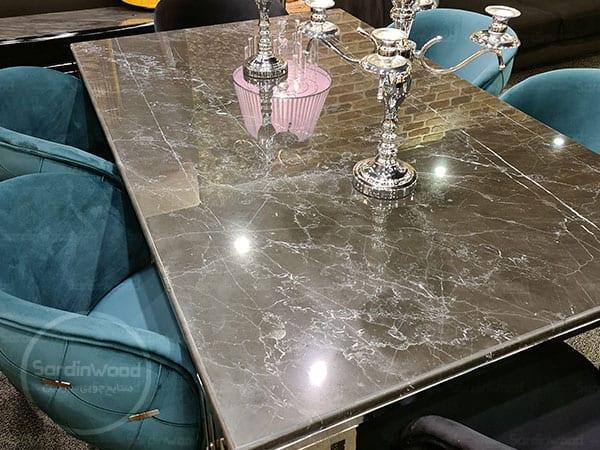 میز نهار خوری چستر طرح سنگ میران