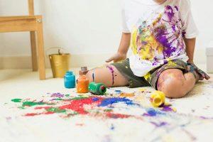 تمیز کردن لک رنگ